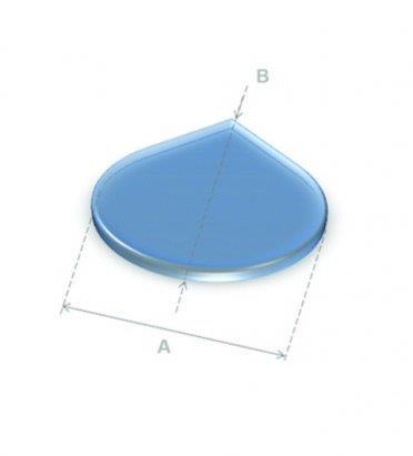 Vloerplaten vloerplaten druppel glas 80x80 for Hittebestendig glas