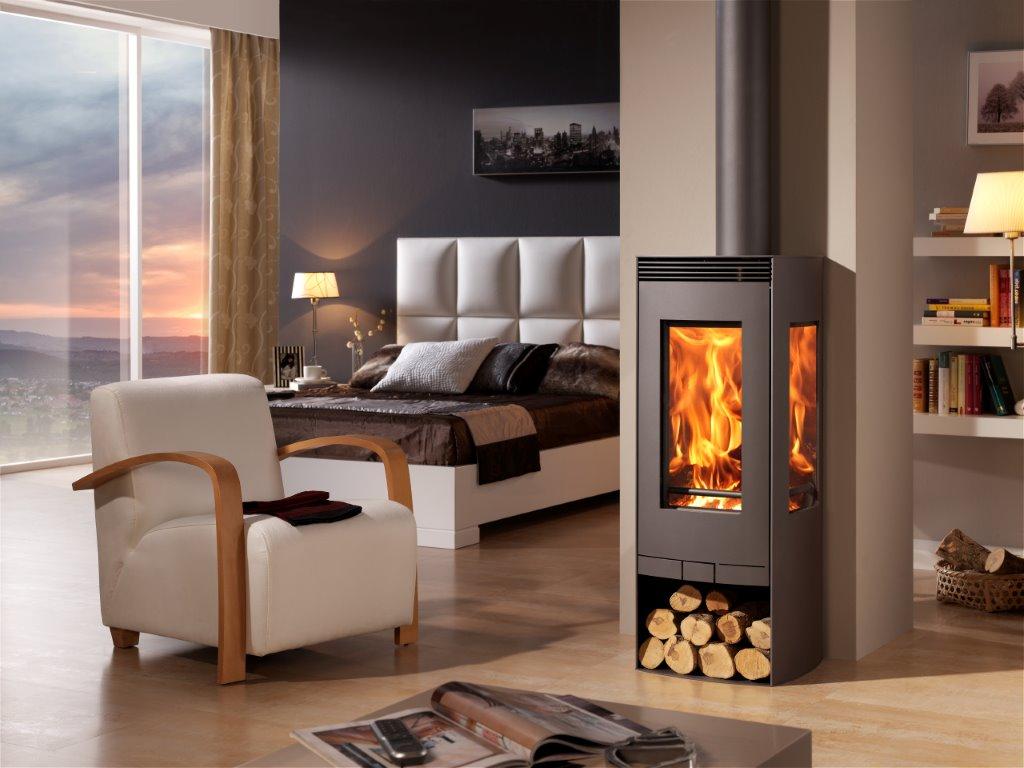 moderne houtkachels 9 5kw houtkachel 3 zijden glas. Black Bedroom Furniture Sets. Home Design Ideas